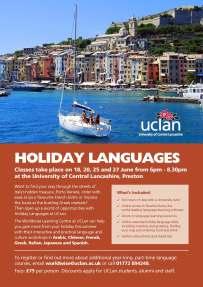 Holiday Languages 2018
